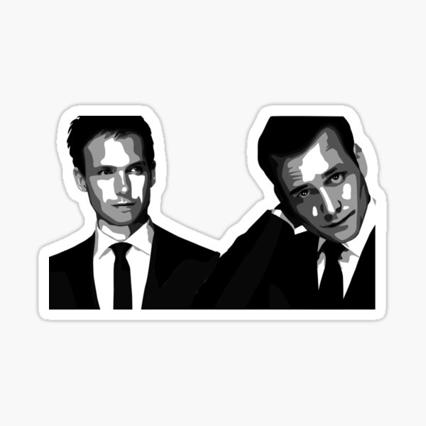 Suits - Mike Ross & Harvey Specter Sticker