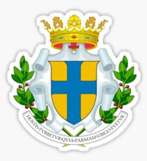 Coat of arms of Parma, Italy Sticker