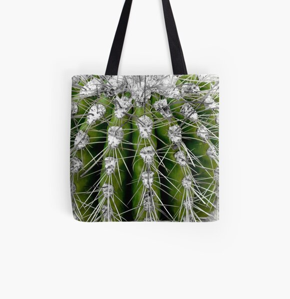 Prickly Cactus All Over Print Tote Bag