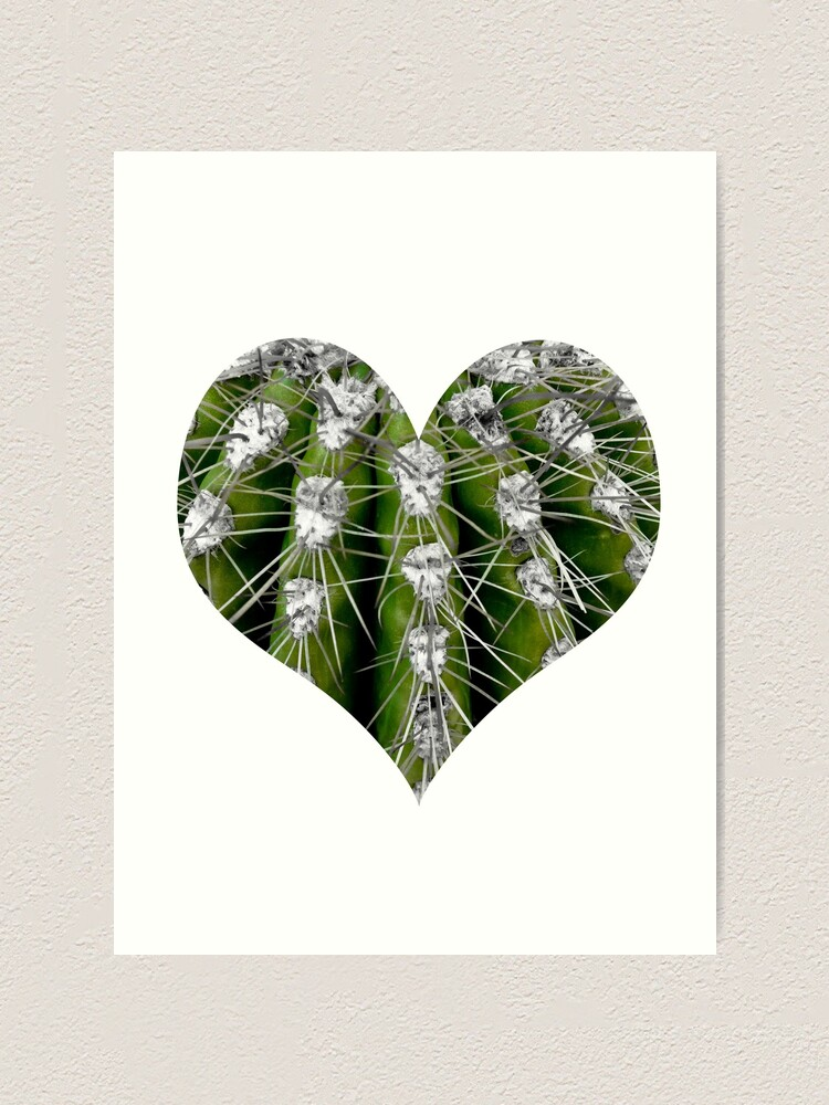 Alternate view of Prickly Cactus Art Print