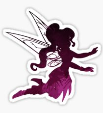 Fairy Inspired Silhouette Sticker