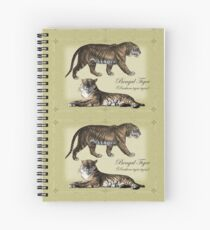 Bengal Tigers Spiral Notebook