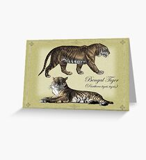 Bengal Tigers Greeting Card