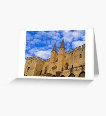 Palais des Papes Greeting Card