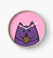 Fat Cat Cookie Clock