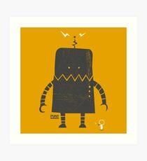 Puny Humans Art Print