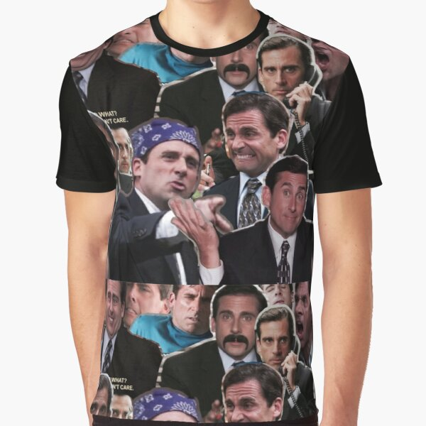 The Office Michael Scott - Steve Carell Graphic T-Shirt