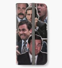 The Office Michael Scott - Steve Carell iPhone Wallet/Case/Skin