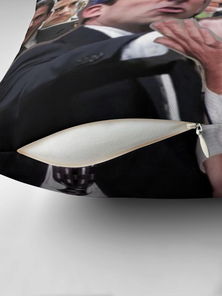 Alternate view of The Office Michael Scott - Steve Carell Throw Pillow