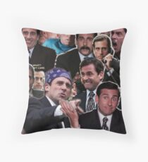 The Office Michael Scott - Steve Carell Throw Pillow