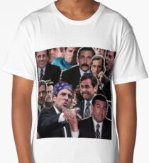 The Office Michael Scott - Steve Carell Long T-Shirt