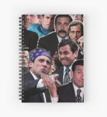 The Office Michael Scott - Steve Carell Spiral Notebook