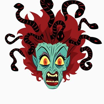 Medusa the Gorgon by mattpott