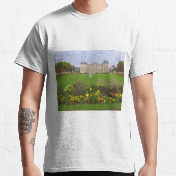 Palace at Luxembourg Gardens in Paris Classic T-Shirt