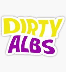 Dirty Albs Sticker