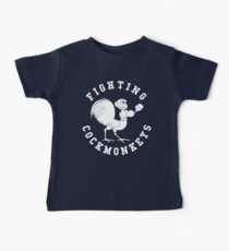 Fighting Cockmonkeys Kids Clothes