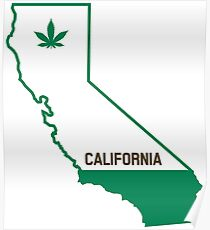 California The Green State Poster