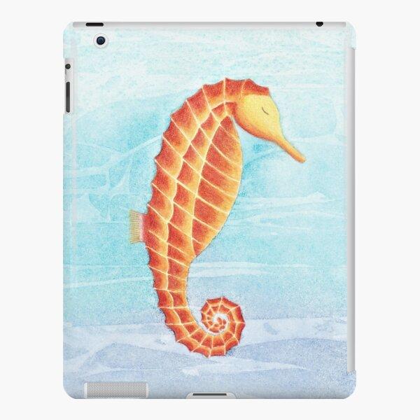 The Peaceful Sleeping Seahorse iPad Snap Case