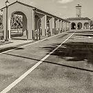 Venice Train Depot  by John  Kapusta