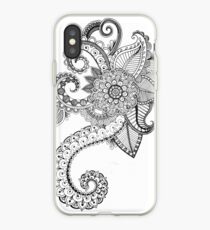 Freehand Henna iPhone Case