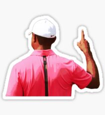 Tiger Woods PGA TOUR Number 1 Sticker