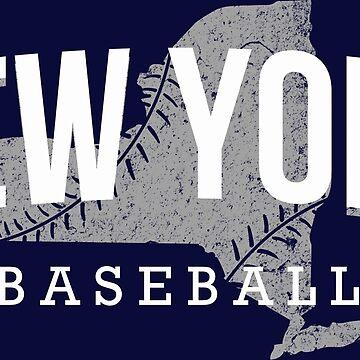 New York Baseball 3 by JayJaxon