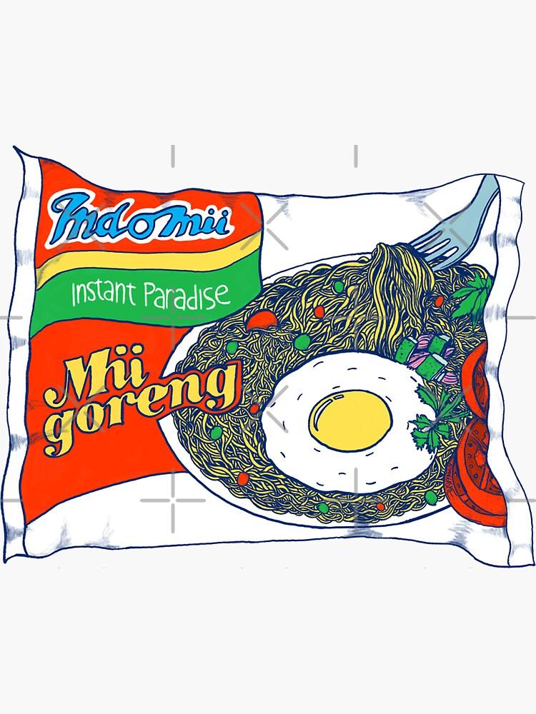 Indomii Goreng Instant Noodle by Ranggasme