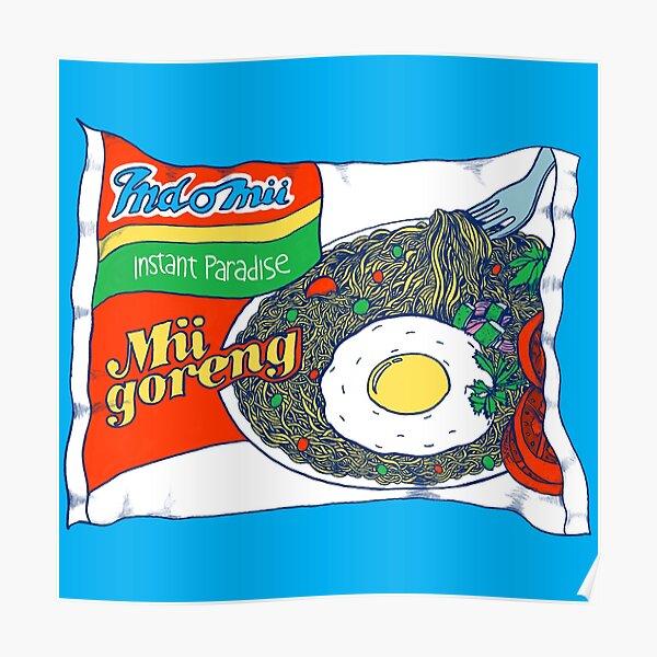 Indomii Goreng Instant Noodle Poster