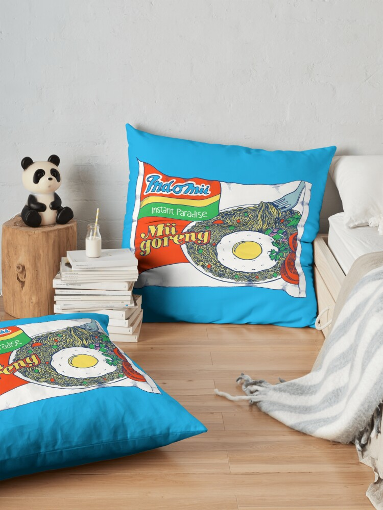 Alternate view of Indomii Goreng Instant Noodle Floor Pillow
