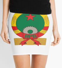 Emblem of People's Republic of Benin, 1975-1990 Mini Skirt