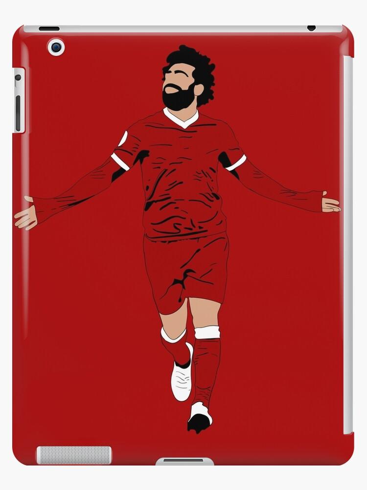 17e536ea5c Ilustración de Mo Salah - LFC Liverpool FC Regalo - Arte - Cartel -  Impresión - Reloj - Camiseta - Tee