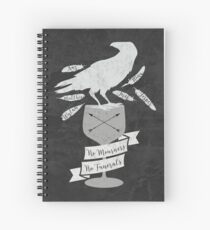 No Mourners, No Funerals - Six Of Crows Spiral Notebook