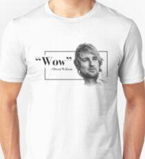 Camiseta unisex Owen Wilson