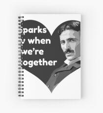Tesla Love Spiral Notebook