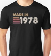 Made In 1978 Slim Fit T-Shirt
