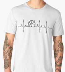 Volleyball Heartbeat Men's Premium T-Shirt