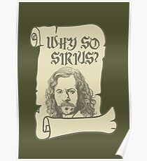 Why So Sirius? Poster