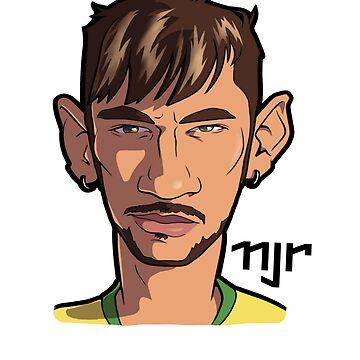 Neymar Jr by cellinleal