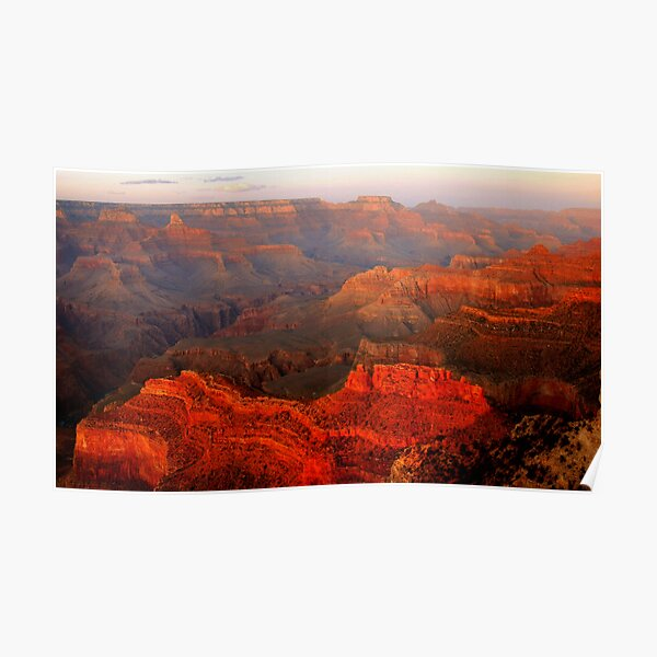 Grand Canyon Sunset From Hopi Point Poster By Svecchiotti Redbubble