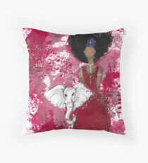 Delta Angel, Black Angels, African American Throw Pillow