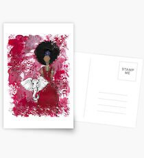Delta Angel, Black Angels, African American Postcards