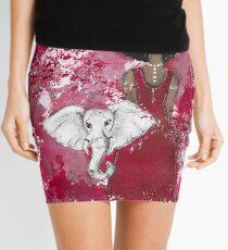 Delta Angel, Black Angels, African American Mini Skirt