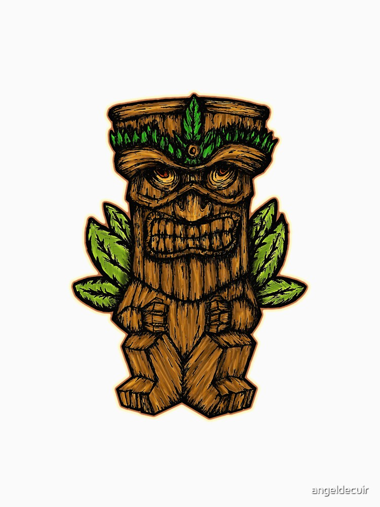 Tiki monster de angeldecuir