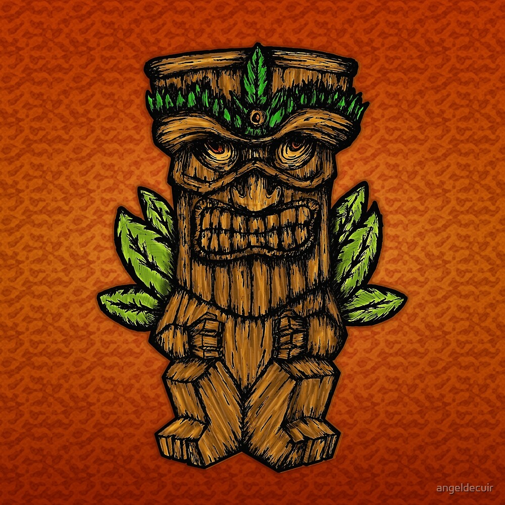 Tiki monster by angeldecuir