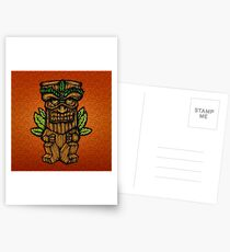Tiki monster Postcards