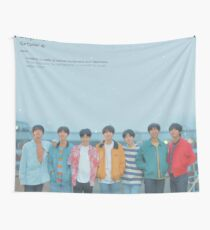 Bts love yourself wonder euphoria Wall Tapestry