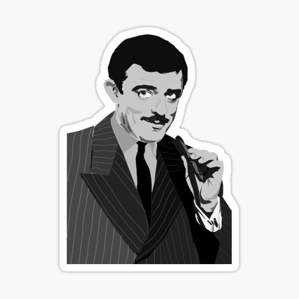 GOMEZ -  Addams Family Sticker
