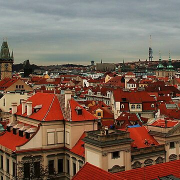 View over Prague by amb1946