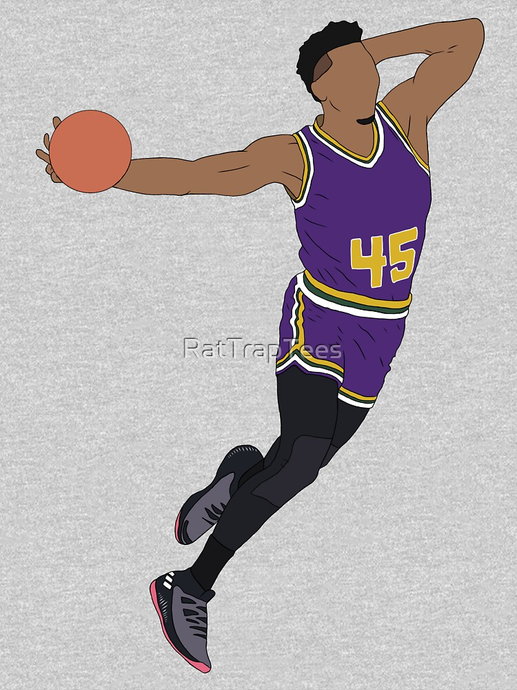 """Donovan Mitchell """"The Mailman"""" by RatTrapTees"""