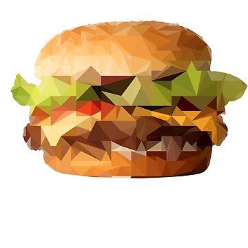 Delicious juicy poly burger by zoliio